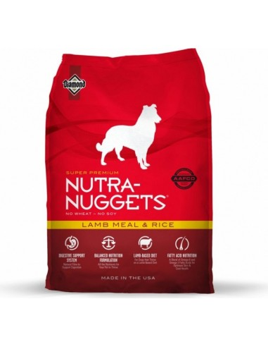 Croquettes Chien Nutra Nuggets Lamb &...