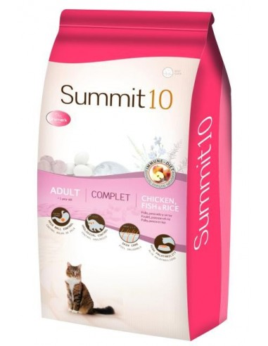 Croquettes Chat SUMMIT 10 Complet