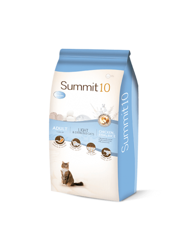 Croquettes Chat SUMMIT 10 Light &...