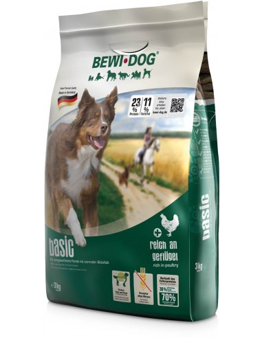 Croquettes Chien Bewi Dog Basic